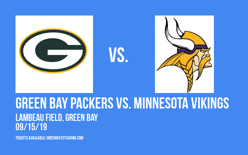 PARKING: Green Bay Packers vs. Minnesota Vikings at Lambeau Field
