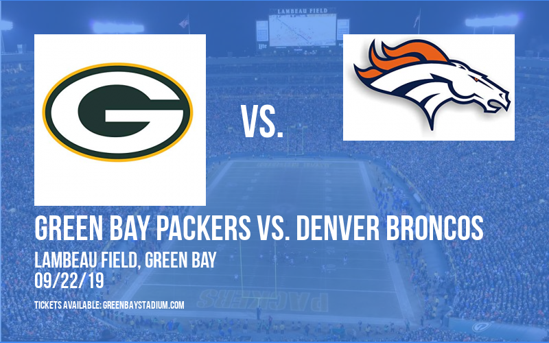 PARKING: Green Bay Packers vs. Denver Broncos at Lambeau Field