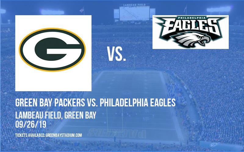 Green Bay Packers vs. Philadelphia Eagles at Lambeau Field